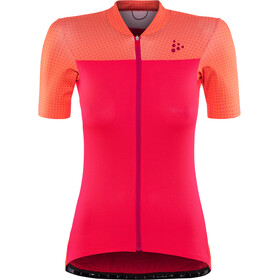 Craft Hale Glow Jersey Dames, boost/crush